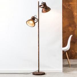 Lampadaire Frodon à deux lampes