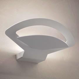 Belle applique Loto LED, blanche