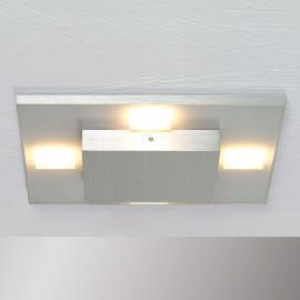 Plafonnier LED Slight carré, en aluminium