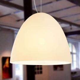 Suspension Bell 21 cm 1 lampe sablée