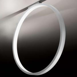Plafonnier design Assolo noir, en anneau