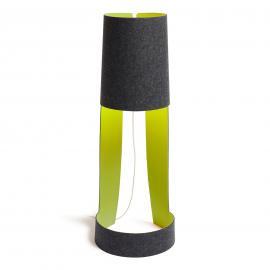 Petit lampadaire design Mia XL graphite/pomme