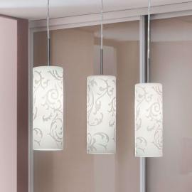 Suspension décorative Amanda, 3 ampoules