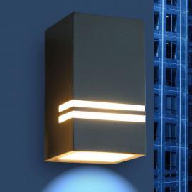 Applique murale LED d'extérieur décorative Stripes