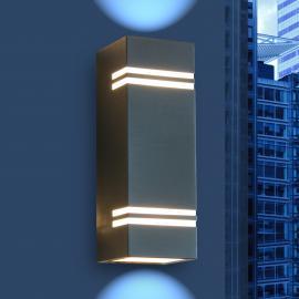 Applique d'extérieur LED moderne Stripes