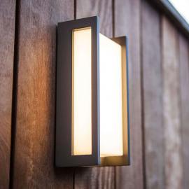 Applique d'extérieur LED rectiligne Qubo