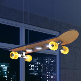 Suspension LED Light Cruiser en Skateboard