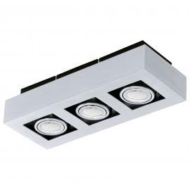 Plafonnier aluminium Loke avec LED