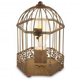 Lampe à poser cage Christin