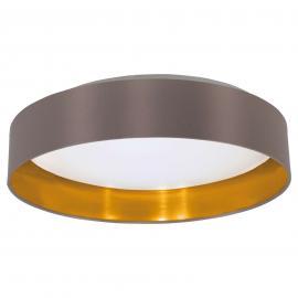 Plafonnier LED Carpi en textile