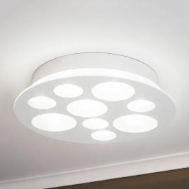 Pernato - un plafonnier LED rond et blanc