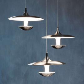 Suspension LED Toronja de forme futuriste