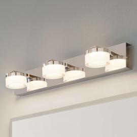 Applique LED pour miroir Romendo à trois lampes