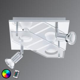 Plafonnier LED RGBW carré Cabo-C