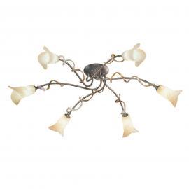 Plafonnier floral à 6 lampes FLY