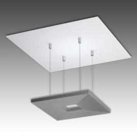 Plafonnier LED Zen en aluminium