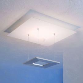 Plafonnier LED d'ambiance Zen 60cm aluminium