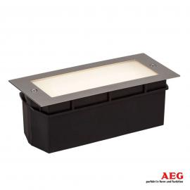 Applique LED encastrable Wall avec verre satiné