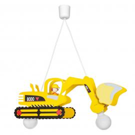 Bodo suspension pour enfants, forme de tractopelle