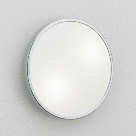 Plafonnier et applique PLAZA, verre, 31 cm, chromé