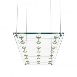 Suspension design raffinée SOSPESA en verre