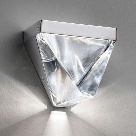 Applique LED Tripla étincelante, aluminium