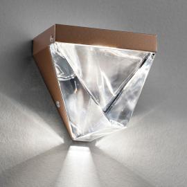 Applique LED Tripla étincelante, bronze