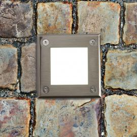 Spot encastrable dans le sol carré LED-18