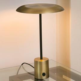Lampe à poser LED Hoshi originale en doré/noir