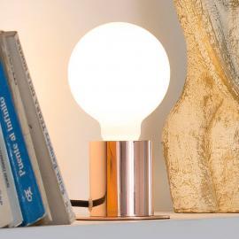 Lampe à poser minimaliste Ten en cuivre