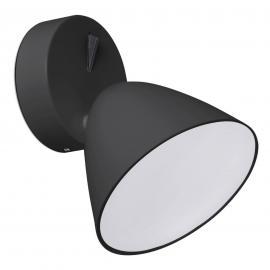 Applique murale LED Flash, noir