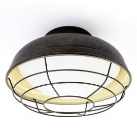 Plafonnier cage Helmet en design vintage