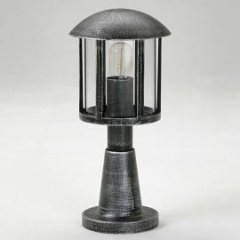 Luminaire pour socle Mads style rustique noir