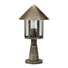 Luminaire pour socle LAMPIONE brun laiton