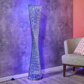 Lampadaire LED Philia RVB, très belle manufacture