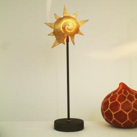 Lampe à poser STERNSCHNECKE GOLD, fer