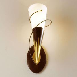 Applique à 1 lampe Torcia Spirale