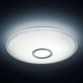 Plafonnier LED Nuno, nickel mat