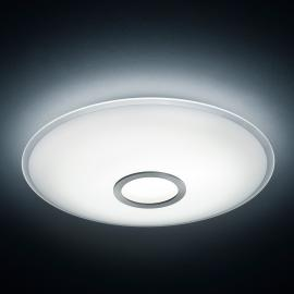 Plafonnier LED Nuno, nickel mat