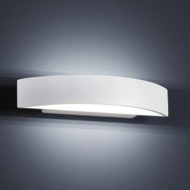Applique LED moderne Yona, blanc mat, 27,5 cm