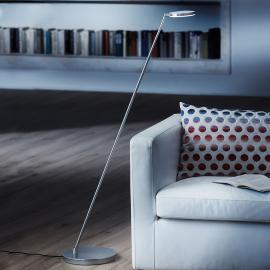Lampadaire LED Plano S en aluminium mat