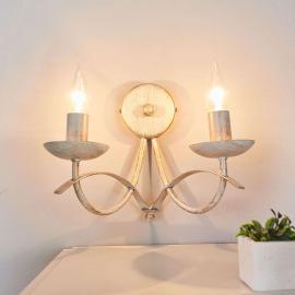 Belle applique à deux lampes Hannes