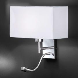 Applique fonctionnelle Kempten avec bras LED