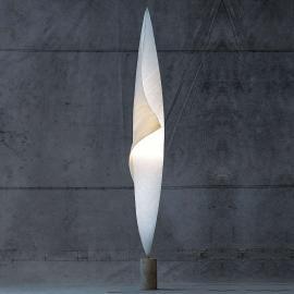 Lampadaire en cocon Wo-Tum-Bu 1 avec variateur