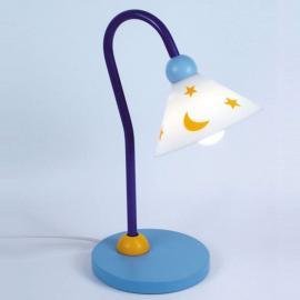 Lampe à poser-liseuse Prince bleue ciel
