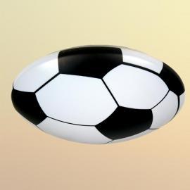 Plafonnier Ballon de foot en matériau synthétique