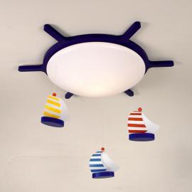 Plafonnier VOILIER pour chambre d'enfant