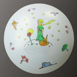 Plafonnier Petit Prince joliment décoré