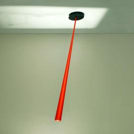 Suspension de créateur orange Drink Color 127 cm