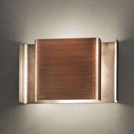 Applique LED Alalunga couleur bronze